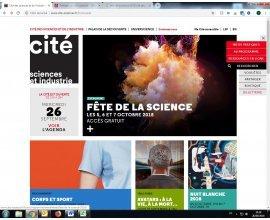Cité des Sciences et de l'Industrie: 3 jours gratuits en Octobre