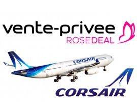 Vente Privée: [Rosedeal] 100€ pour 250€ de bon d'achat sur les vols Corsair vers les Antilles, Cuba ou l'Afrique