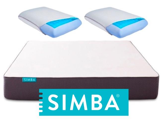 Code promo Simba Matelas : 2 oreillers à mémoire de forme avec gel rafraichissant pour l'achat d'un Matelas Hybrid