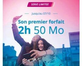 Bouygues Telecom: [Clients Box] Forfait mobile 2h d'appels + SMS/MMS illimités + 20 Mo d'Internet à 1€/mois