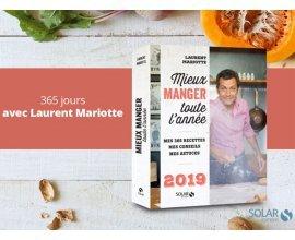 Femme Actuelle: A gagner un exemplaire du livre de Laurent Mariotte Mieux manger toute l'année