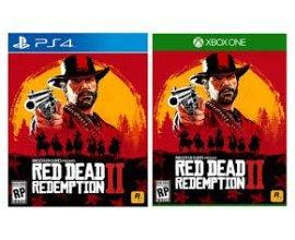 Auchan: [Précommande] Red Dead Redemption 2 sur PS4 ou Xbox One à 46,59€ au lieu de 64,99€