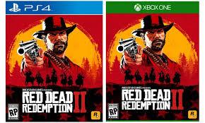 Code promo Auchan : [Précommande] Red Dead Redemption 2 sur PS4 ou Xbox One à 46,59€ au lieu de 64,99€