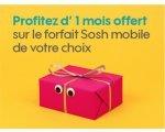 Sosh: Un mois de forfait mobile offert pour les filleuls