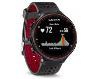 Amazon: Montre connectée Multisport Garmin Forerunner 235 noir rouge à 169€