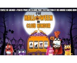 Kinder: De nombreux lots pour Halloween à gagner
