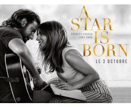 Chérie FM: 5 × 2 places de cinéma à gagner pour le film A star is born à gagner