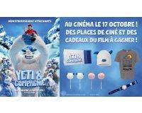 """Gulli: 4 places pour le film """"Yeti & Compagnie"""" avec 1 T-shirt enfant et 1 montre enfant à gagner"""