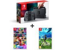 Auchan: Console Nintendo Switch + Mario Kart 8 Deluxe + The Legend Of Zelda : Breath of the Wild à 399,99€