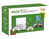 Fnac: Console Xbox One S 1 To + FIFA 19 + Forza Horizon 4 + PUBG + 2e manette + Xbox Live 3 mois à 299€