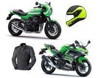 Louis Moto: 80000€ de cadeaux à gagner dont 2 motos Kawasaki, 1 voyage en Ecosse, des tenus de moto etc