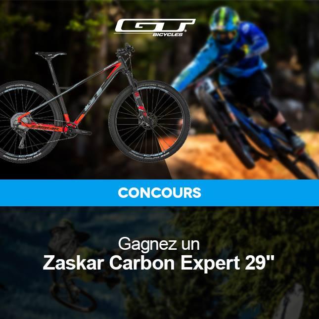 """Code promo Probikeshop : Un VTT Zaskar Carbon Expert 29"""" à gagner"""