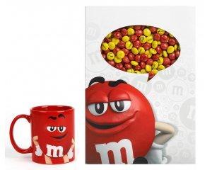 My M&M's: Des coffrets Clin d'Oeil + 1 Mug Rouge à gagner