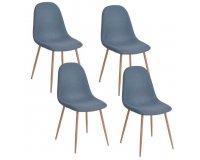 Cdiscount: Lot de 4 chaises de salle à manger Charlton style Scandinave à 99€