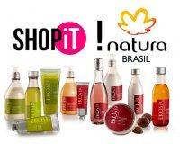 Showroomprive: Payez 25€ pour 50€ (ou 40€ pour 80€) le bon d'achat valable chez Natura Brasil