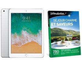 """La Poste: 1 iPad Wifi 128Go Argent & 10 coffrets Wonderbox """"Séjours charme et saveurs"""" à gagner"""