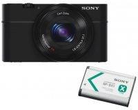 Amazon: Appareil photo numérique SONY RX100 + 1 Batterie Rechargeable à 329€