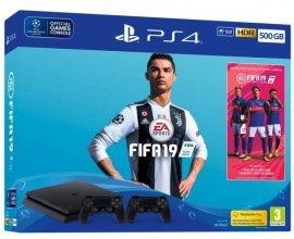 Cdiscount: Pack PS4 500 Go + FIFA 19 + 2ème manette PS4 DualShock 4 + 14 jours d'essai PlayStation Plus à 319€