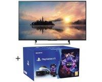 """Cdiscount: TV LED 4K HDR Sony 123 cm (9"""") + Playstation VR V2 + Caméra + jeu VR Worlds à 599,99€"""