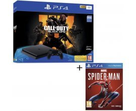 Cdiscount: Pack PS4 1 To Noire + 2 jeux PS4 : Call of Duty Black Ops 4 + Marvel's Spider-Man à 349,99€