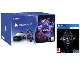 Micromania: -30€ + le jeu Skyrim offert pour l'achat d'un casque Playstation VR V2 + camera V2+ VR Worlds