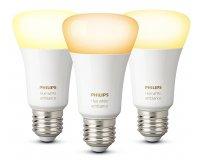 Amazon: Lot de 3 Ampoules connectées Philips Hue White Ambiance E27 à 54,90€