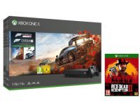 Amazon: Pack Xbox One X 1 To + 3 jeux (Forza Horizon 4, Forza Motorsport 7 et Red Dead Redemption 2) à 449€