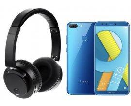 Fnac: Smartphone Honor 9 Lite Double Sim 64Go + Casque Bluetooth X60 Noir avec suppression du bruit à 229€
