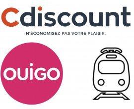 Cdiscount: 40€ offerts sur Cdiscount pour l'achat d'un billet de train OUIGO