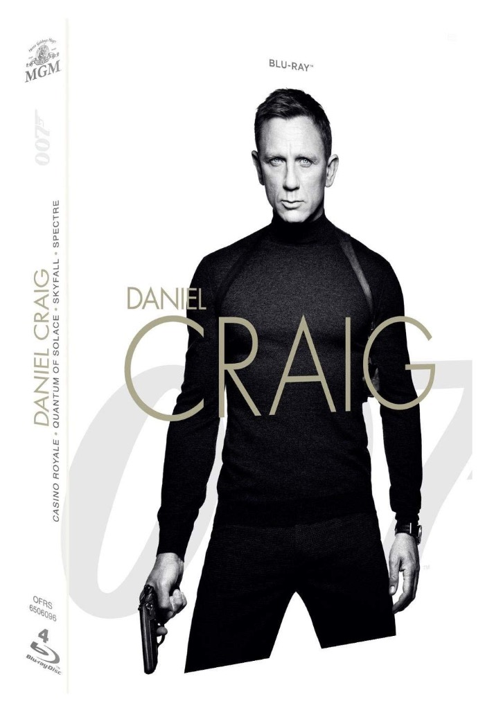 Code promo Amazon : Coffret Blu-ray James Bond 007 (4 films) : Casino Royale + Quantum of Solace + Skyfall + Spectre à