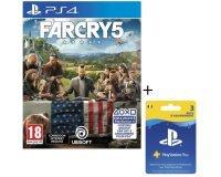 Cdiscount: Jeu PS4 Far Cry 5 + Abonnement Playstation Plus 3 Mois à 39,99€