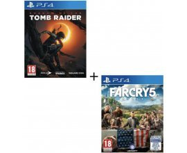 Cdiscount: Shadow of the Tomb Raider + Far Cry 5 sur PS4 à 49,99€