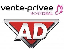 Vente Privée: [Rosedeal] Payez 50€ le bon d'achat AD.fr de 100€