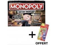 Cdiscount: MONOPOLY - Edition Tricheurs + 1 Uno Offert pour 21,80€