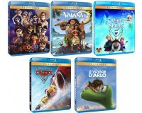 Amazon: 5 Blu-ray Disney pour 50€