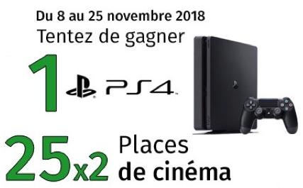 Code promo Gamecash : Une console PS4 et 25 lots de 2 places de cinéma pour le film Overlord à gagner