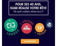Kiabi: 1 voyage en famille en Finlande, 1 chèque de 10 000€ et 1 voiture Dacia Sandero à gagner