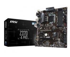 Amazon: Carte mère MSI Z370-A Pro Intel Z370 LGA 1151 à 86,21€