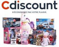 Cdiscount: 5% de réduction sur les jouets (-10% si vous êtes membre Cdiscount à Volonté)