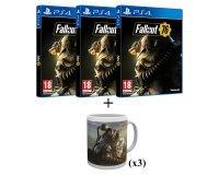 Auchan: 3 Jeux PS4 Fallout 76 + 3 Mugs offert au prix de 120€ au lieu de 179,94€