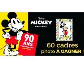 Géant Casino: 60 cadres photos magnétiques Mickey à gagner