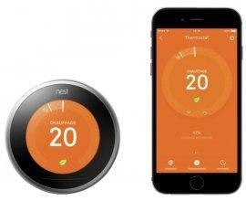 Leroy Merlin: Thermostat connecté et intelligent NEST (contrôlant le chauffage et l'eau chaude) à 199€