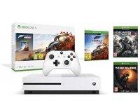 Amazon: Xbox One S 1 To - Forza Horizon 4 + Tomb Raider + Gears of War 4 à 234,99€