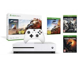 Amazon: Xbox One S 1 To - Forza Horizon 4 + Tomb Raider + Gears of War 4 à 234,99€