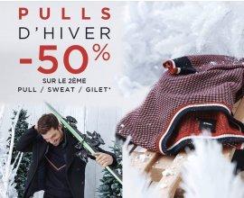 Brice: 50% de réduction sur le 2ème pull, polo ou chemise