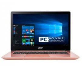 "Boulanger: PC Portable 14"" Acer Swift SF314-54-53DY (Rose) à 499€"