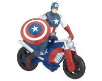 "Cdiscount: Figurine Avengers 15cm ""Captain America et sa Moto"" à 4€"