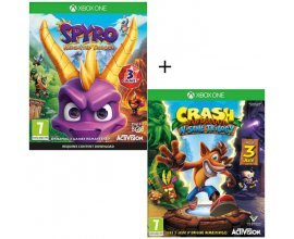 Cdiscount: Pack 2 jeux Xbox One : Spyro Reignited Trilogy + Crash Bandicoot N-SANE Trilogy à 49,99€