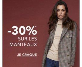 Etam: 30% de réduction sur tous les pulls et les manteaux