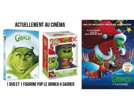 """Ciné Média: Un DVD + Une figurine POP """"Le Grinch"""" à gagner"""